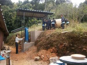 Aanleg schoon drinkwatervoorziening