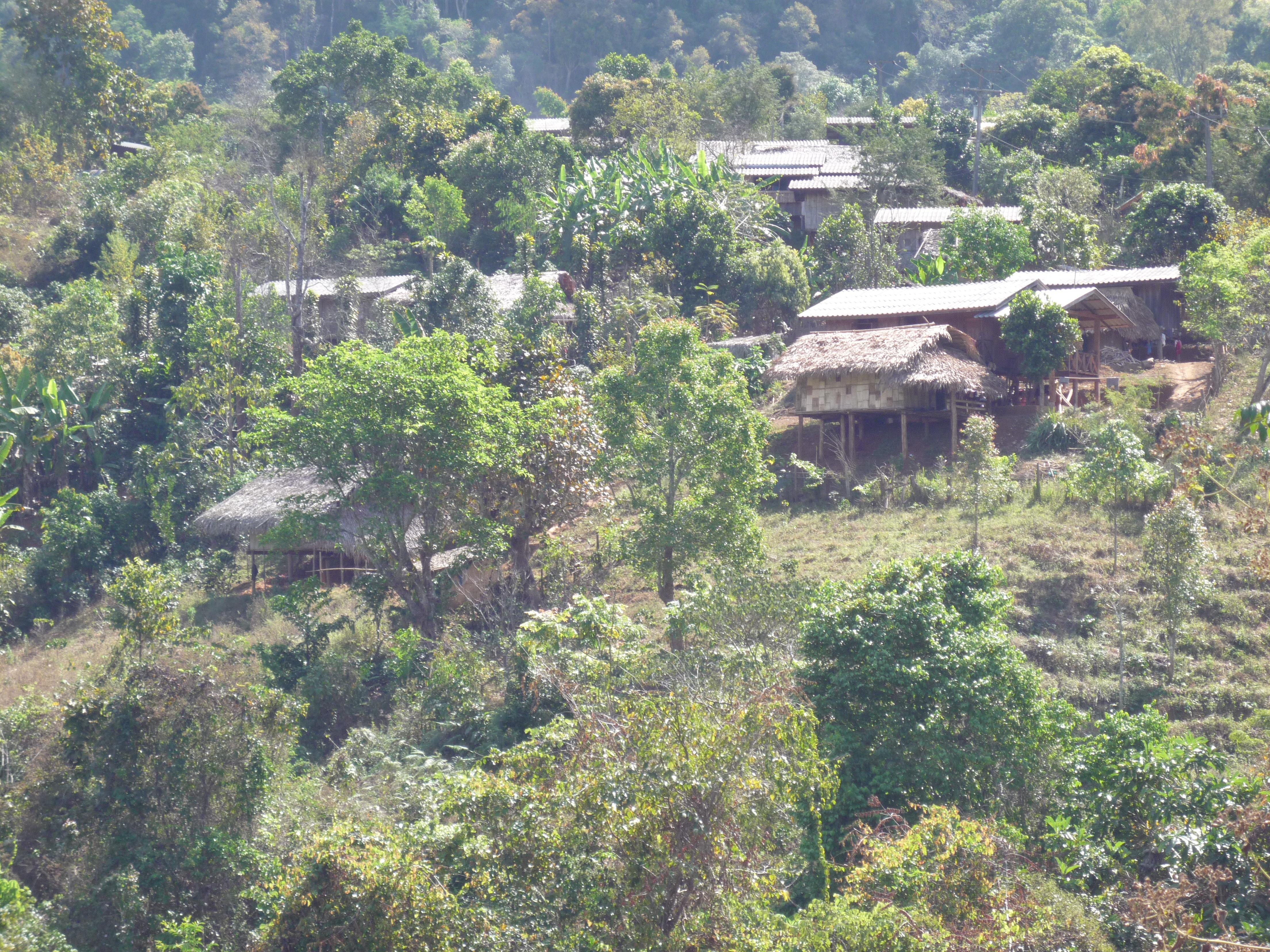 Omgeving van het dorpje
